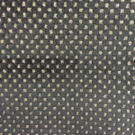 Haute House Fabric - Cavalli Black - Check/Plaid Velvet #3886