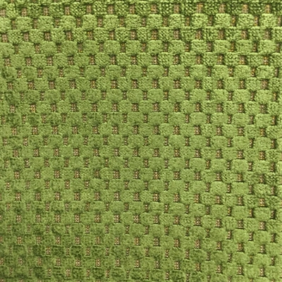 Haute House Fabric - Cavalli Kiwi - Check/Plaid Velvet #3890