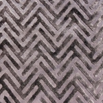 Haute House Fabric - Devious Charcoal - Chevron Velvet #3918