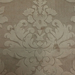 Haute House Fabric - Nattie Latte - Damask Velvet #4040