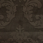 Haute House Fabric - Nattie Mocha - Damask Velvet #4042