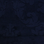 Haute House Fabric - Nattie Midnight - Damask Velvet #4043
