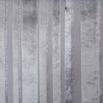 Haute House Fabric - Tiret Silver - Stripe Velvet #4207