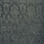 Haute House Fabric - Fiora Gray - Damask Velvet #4210