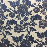 Haute House Fabric - Vidara Blue - Velvet #4355