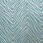 Haute House Fabric - Jungle Book Teal - Woven Fabric #4388
