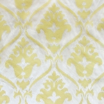 Haute House Fabric - Lancelot Yellow - Woven Fabric #4392