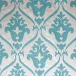 Haute House Fabric - Lancelot Teal - Woven Fabric #4394