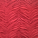 Haute House Fabric - Mowgli Red - Chenille #4557