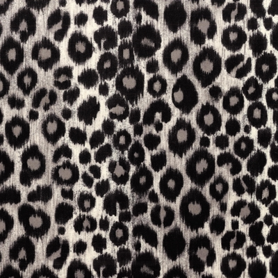 Haute House Fabric -Kitty Kitty Grey - Animal Upholstery Fabric #4678
