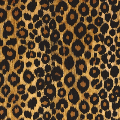 Haute House Fabric -Kitty Kitty Sahara - Animal Upholstery Fabric #4679