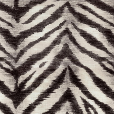 Haute House Fabric -Tigger Zinc - Animal Upholstery Fabric #4680