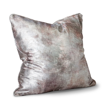 Anatolia Rose Gold Foil Velvet Pillow