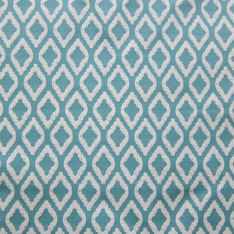 Haute House Fabric - Flip Flop Turquoise - Outdoor Woven Fabric #2955