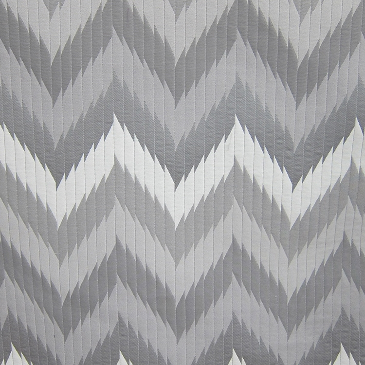 Haute House Fabric -Maison 2 Grey - Chevron Fabric #3164
