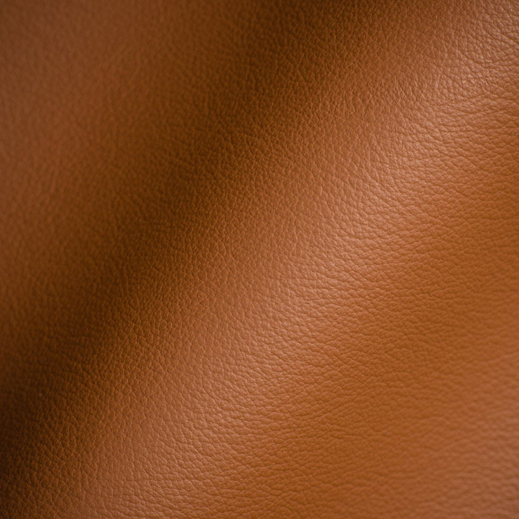 Haute House Fabric - Elegancia Brown - Leather Upholstery Fabric #3211