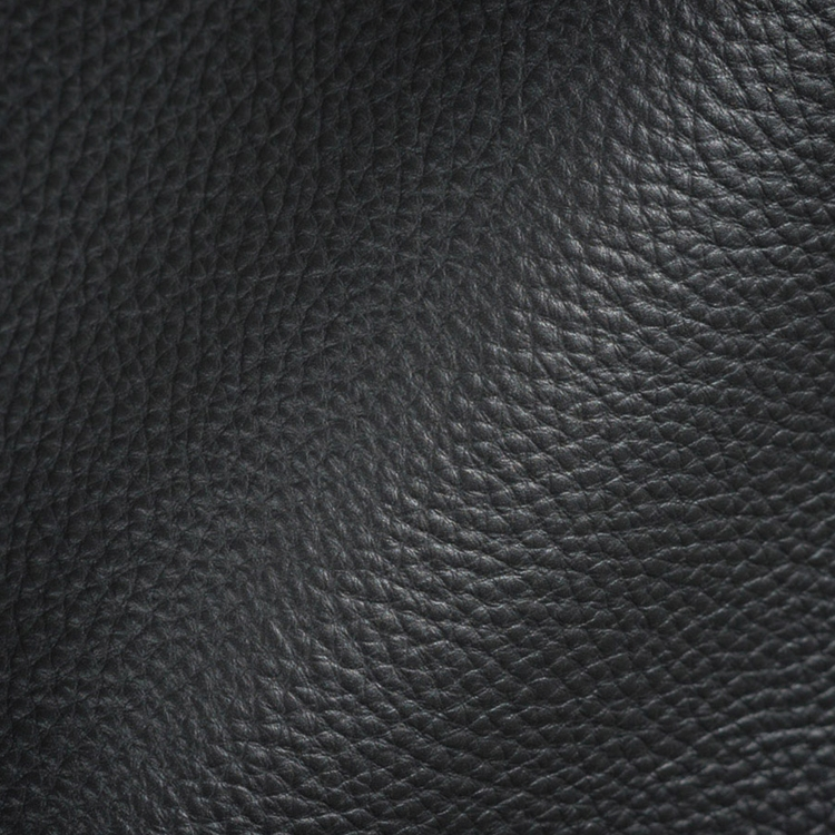 Haute House Fabric - Cracked Pepper - Leather Upholstery Fabric #3448