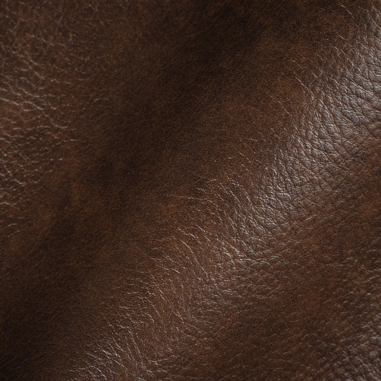 Haute House Fabric - Romantico Walnut- Leather Upholstery Fabric #3468