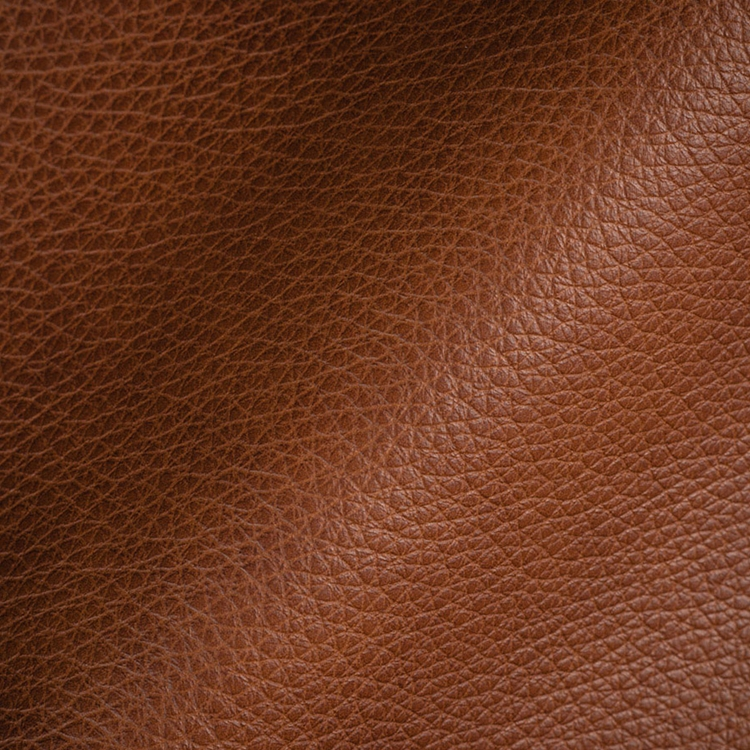 Haute House Fabric - Royce Cognac - Leather Upholstery Fabric #3473
