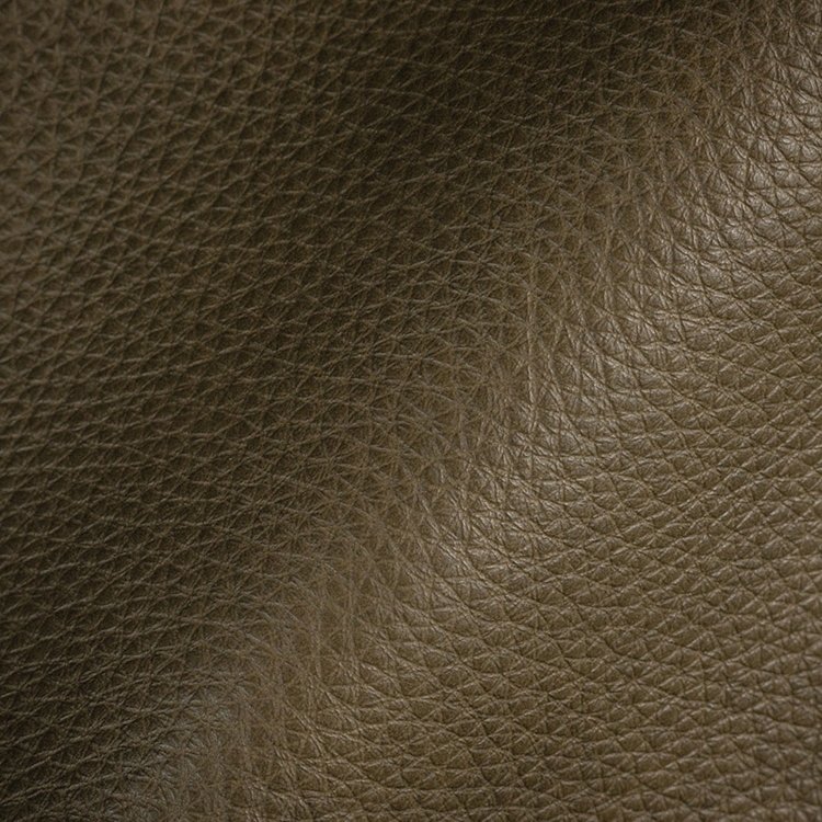 Haute House Fabric - Royce Olive - Leather Upholstery Fabric #3480