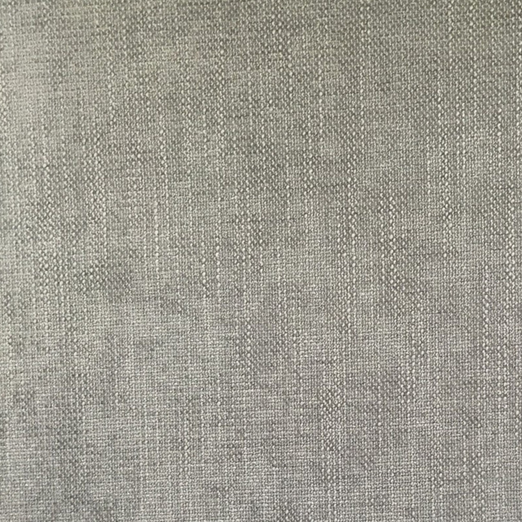 Haute House Fabric - Pippa Silver - Solid Linen Like Fabric #3953