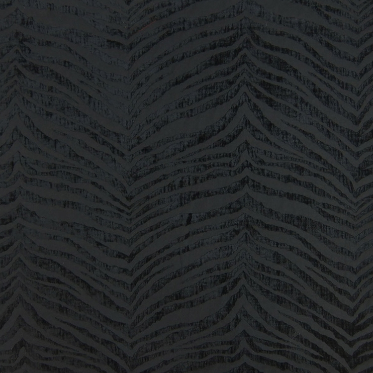 Haute House Fabric - Mowgli Black - Chenille #4586