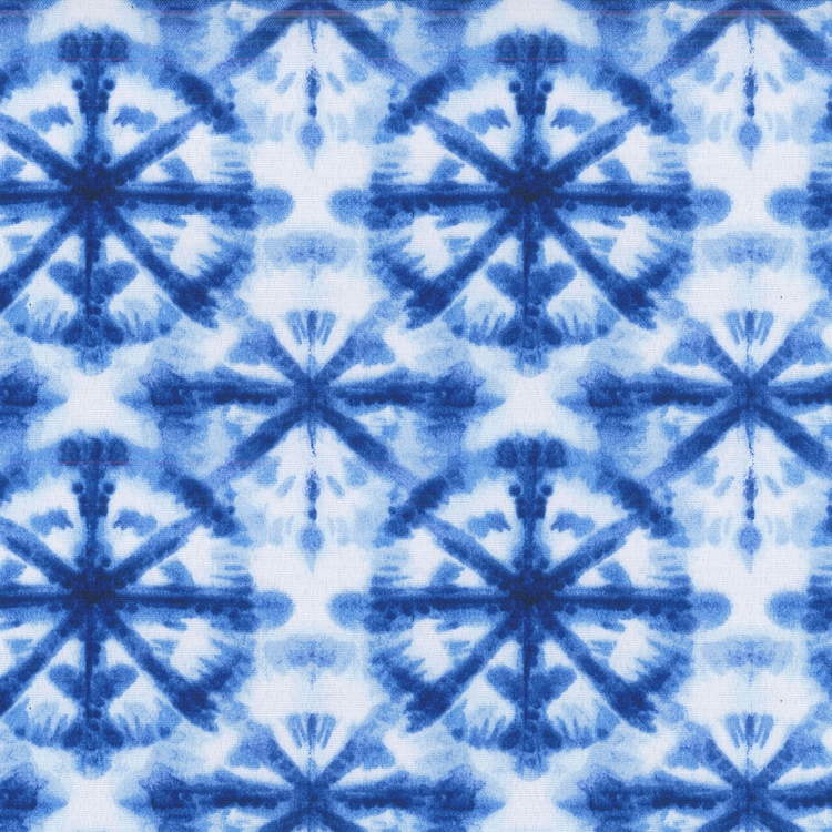 Haute House Fabric - Strobe Navy - Upholstery Outdoor  #4657