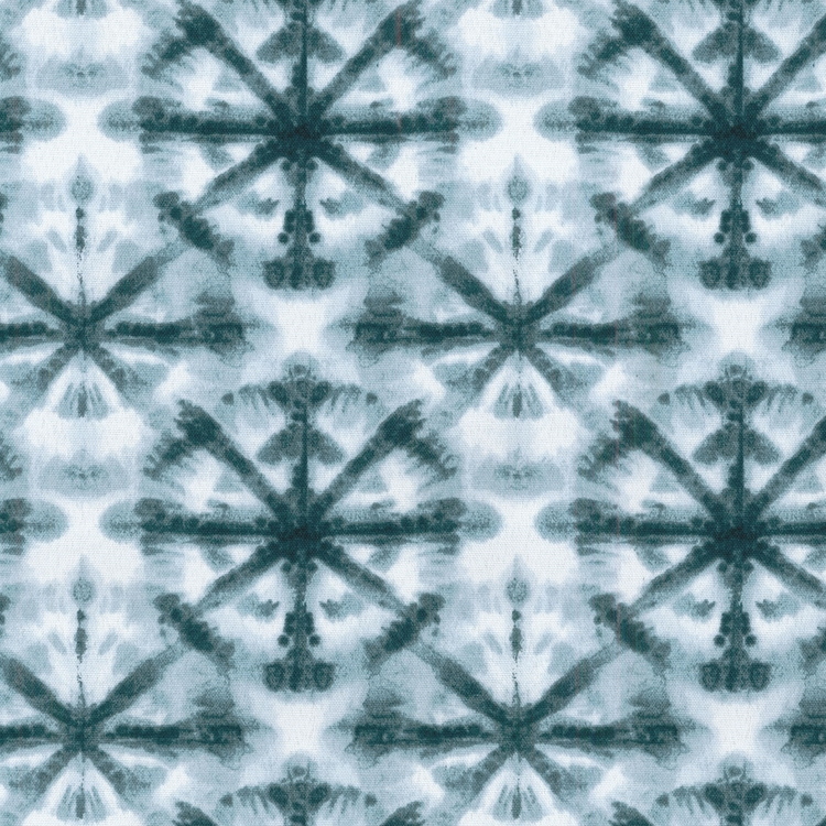 Haute House Fabric - Strobe Ink - Outdoor Pattern #4660